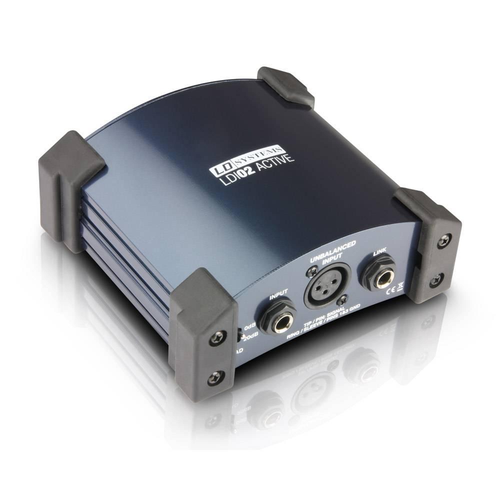 Image of LD Systems LDI02 Actieve DI-box