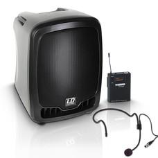 LD Systems Roadboy65HS Draagbare speakerset met headset