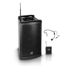 LD Systems Roadman102HS Draagbare speakerset met headset