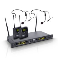 LD Systems WIN42 BPH2 Dubbel draadloos headset systeem