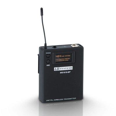 LD Systems WS1616BP Sweet Sixteen draadloze beltpack zender
