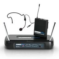 LD Systems WS ECO2 BPH1 Draadloze headset microfoon 863.100MHz