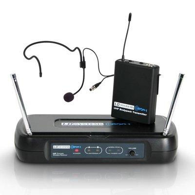 LD Systems WS ECO2 BPH2 Draadloze headset microfoon 863.900MHz