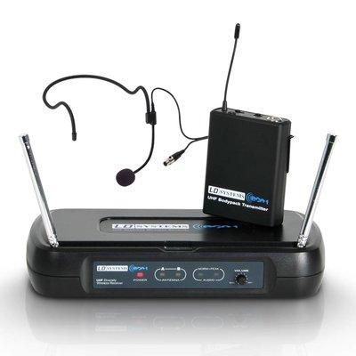 LD Systems WS ECO2 BPH3 Draadloze headset microfoon 864.500MHz