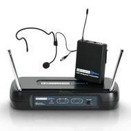 LD Systems WS ECO2 BPH4 Draadloze headset microfoon 864.900MHz
