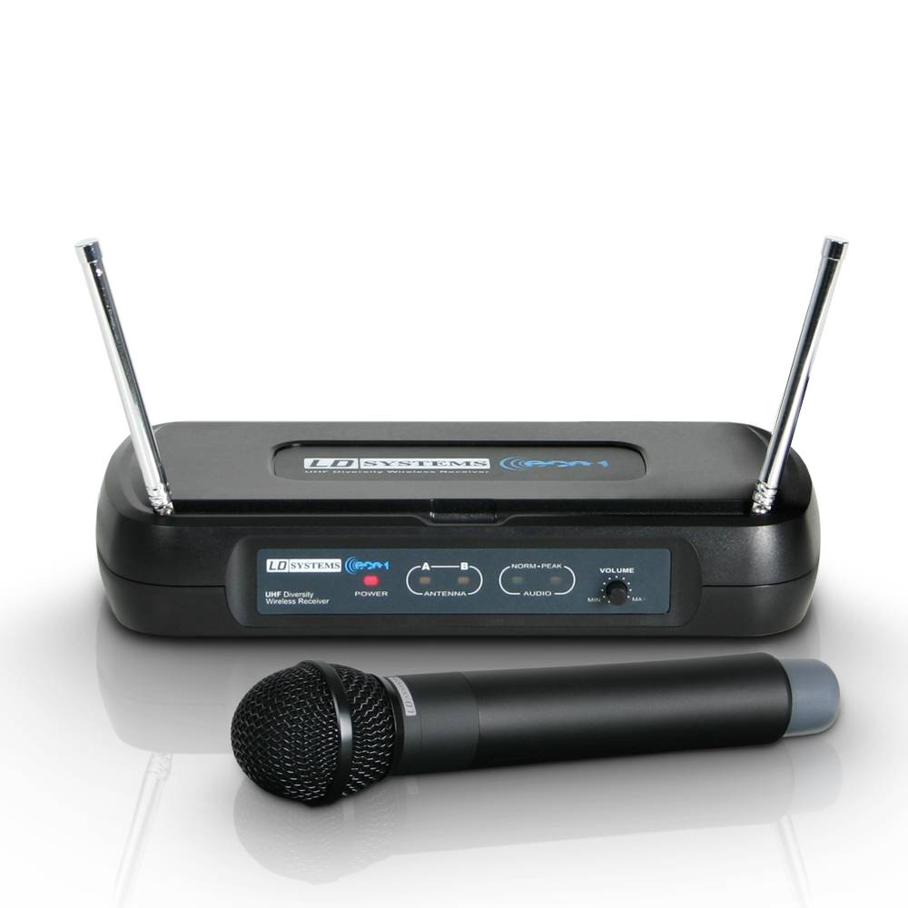 LD Systems WS ECO2 HHD4 Draadloze handheld microfoon 864.900MHz