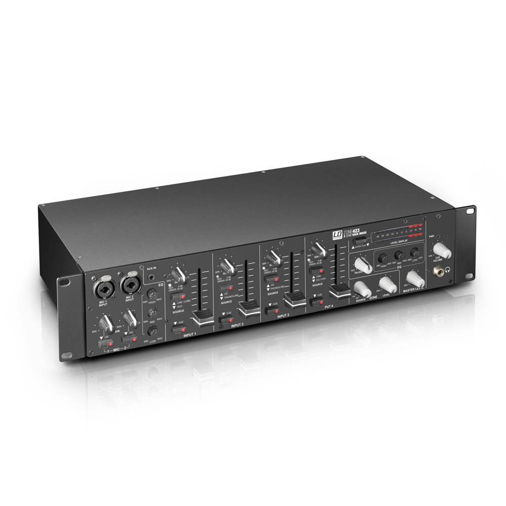 Image of LD Systems Zone423 4-kanaals zone mixer