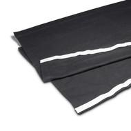 Adam Hall zwart podiumrok met klittenband 80cm x 2m