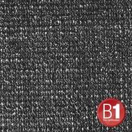 Adam Hall Gaasdoek 100 zwart 3m breed (per meter)