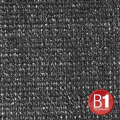 Adam Hall Gaasdoek 100 zwart 4 x 5m