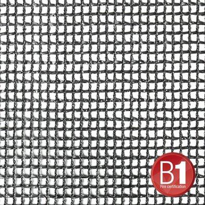 Adam Hall Gaasdoek 201 zwart 3 x 5m
