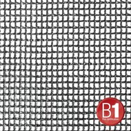 Adam Hall Gaasdoek 201 zwart 3 x 6m