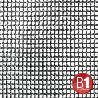 Adam Hall Gaasdoek 201 zwart 4 x 6m