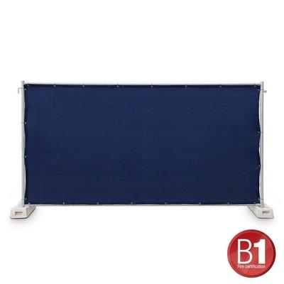 Adam Hall Hekwerk windscherm gaasdoek 341 x 176cm donkerblauw
