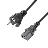Adam Hall 8101KA0100 230V Euro kabel 1m