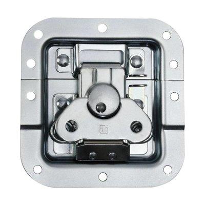 Adam Hall 17283P Medium inbouw vlinderslot met verzet 12mm diep