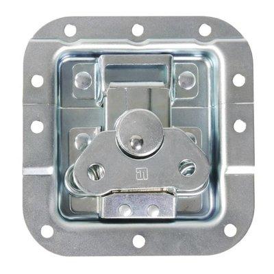 Adam Hall 17284 Medium inbouw vlinderslot met verzet 12mm diep