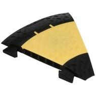 Defender Midi bocht geel