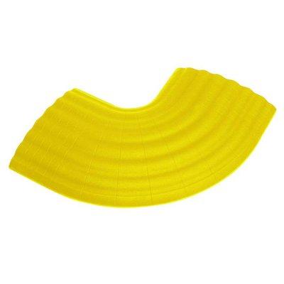Defender Office kabelbrug 90g hoek geel