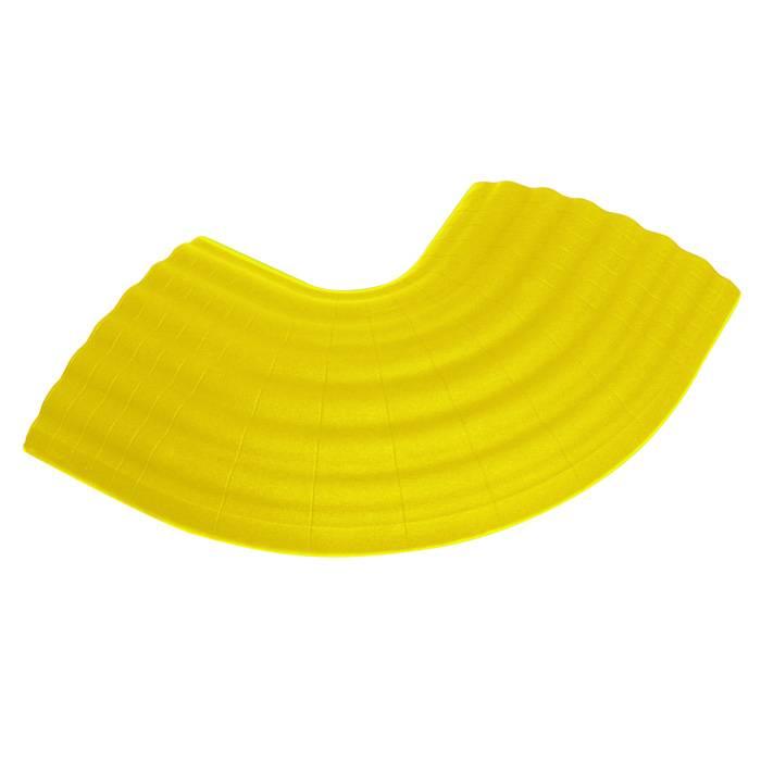 Image of Defender Office kabelbrug 90g hoek geel