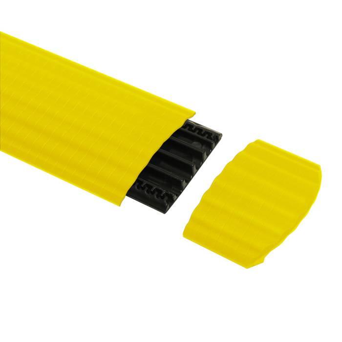 Image of Defender Office kabelbrug eindstuk geel