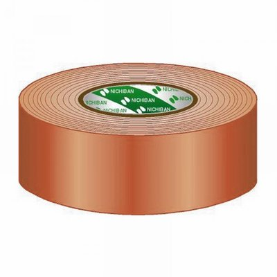 Nichiban Gaffa tape rol 50mm 50m bruin