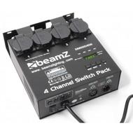 Beamz 4-kanaals switchpack