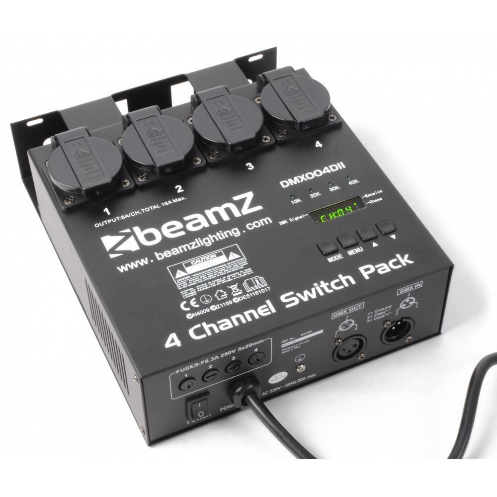 Image of Beamz 4-kanaals switchpack