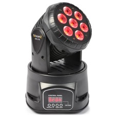 Beamz MHL74 Wash LED moving-head 7x10W