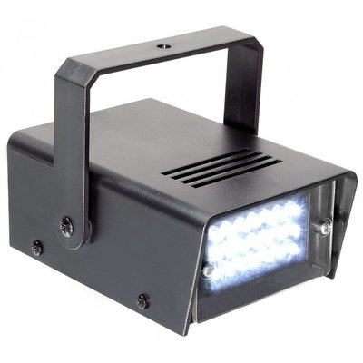 Beamz Mini stroboscoop LED wit