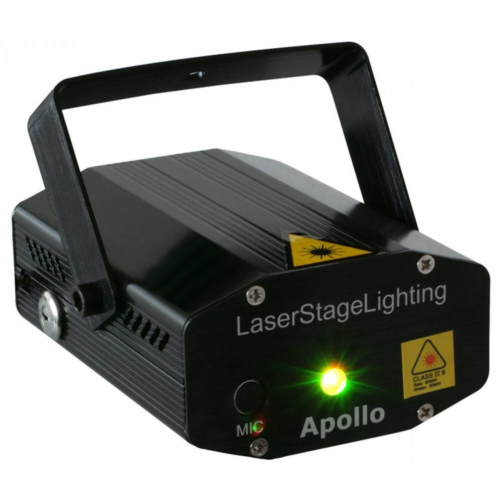 Image of Beamz Apollo Multipoint laser rood/groen