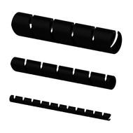 Procab ACW112/B Spiraalband 12mm zwart 10m