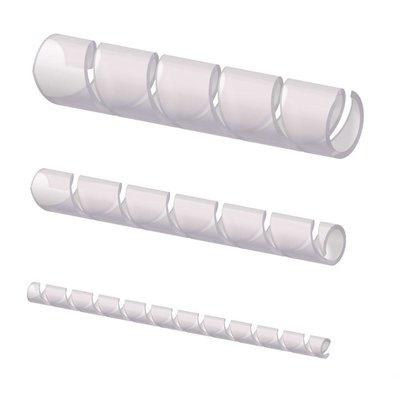 Procab ACW106/T Spiraalband 6mm transparant 10m