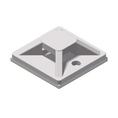 Procab ACM120/W Kabelbinderhouder 20x20mm wit (100 stuks)