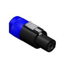 Procab VCL4FC 4-polige luidspreker stekker