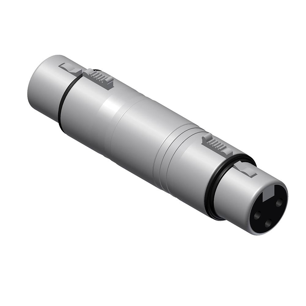 Procab VC145 XLR female naar XLR female adapter