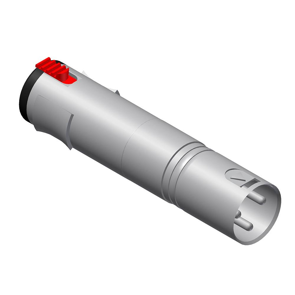 Procab VC115 XLR male naar Jack female adapter