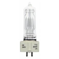 GE GX9.5 230V/650W T12 lamp