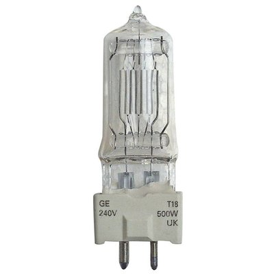 GE GY9.5 230V/500W T18 lamp