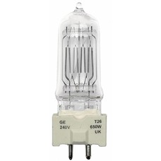 GE GY9.5 230V/650W T26 lamp