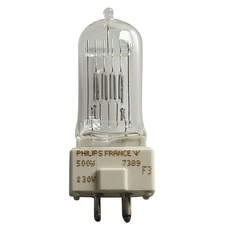 Philips GY9.5 230V/500W A1/244 7389 lamp