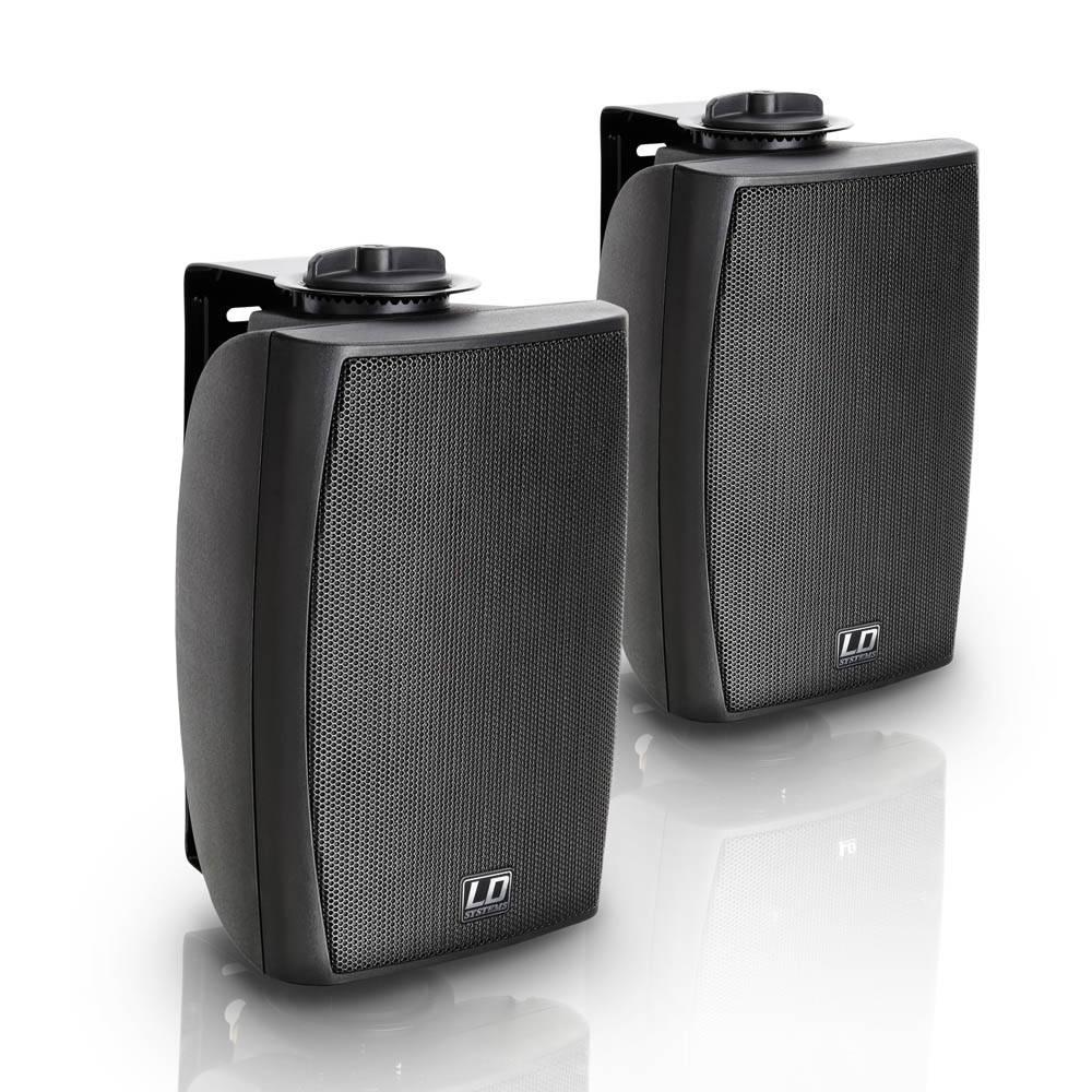 Image of ELA-luidsprekersbox LD Systems Aannemer CWMS 42 B 20 W Zwart 1 paar