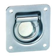 Adam Hall 5801 D-Ring ophangbeugel zilver