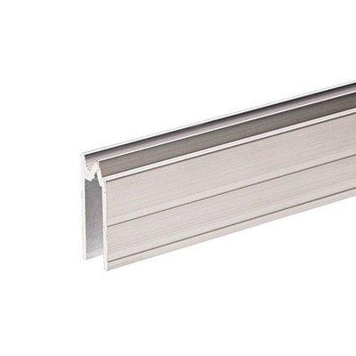Adam Hall Aluminium omkeer sluitprofiel 7mm met grote oversteek