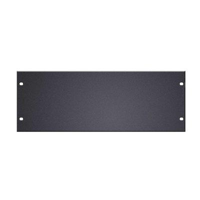 Adam Hall Platte blindplaat 4 HE aluminium