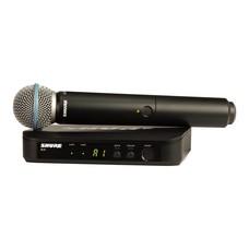 Shure BLX24-Beta 58A draadloze handheld microfoonsysteem