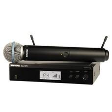 Shure BLX24R-Beta 58A draadloze handheld microfoonsysteem (rackmount)
