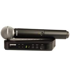 Shure BLX24-PG58 Draadloos microfoonsysteem