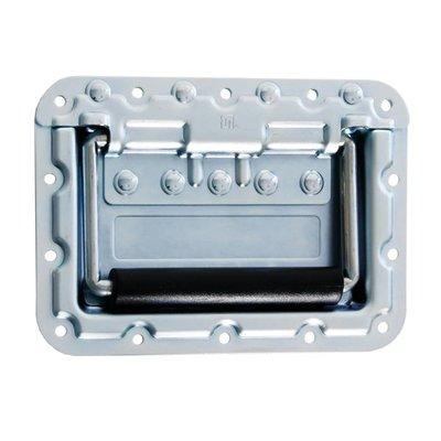 Adam Hall 34087 Groot inbouw handvat met revet bescherming 9.5mm diep