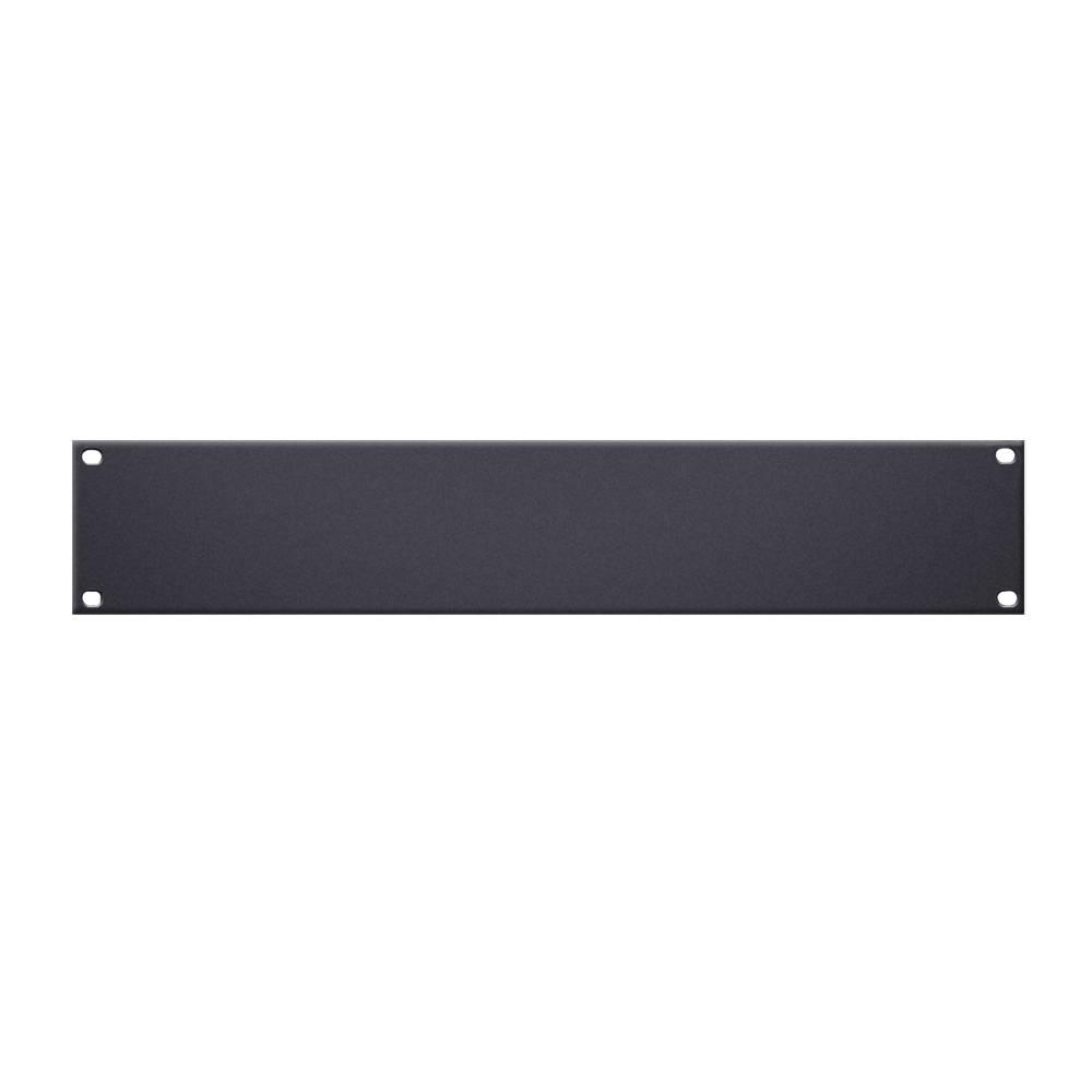 Image of Adam Hall 19 inch blindplaat 2 HE aluminium
